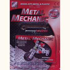 Build Your Own Metal Vehicle Toy Construction Kit w/ Screwdriver, Spanner