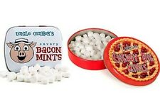 Bacon &/or Cherry Pie Flavored Mints Uncle Oinker's Savory Meat Mint Gag Candy