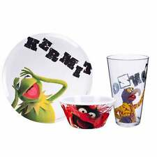Muppets 3 Piece Plastic Dining set Kermit Gonzo and Animal