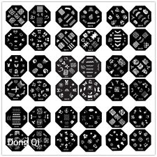 Nail Art Schablone Plates Stamping Nagel Tattoo Stamp Stempel Image Nageldesign