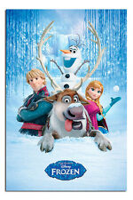 Disney Frozen The Movie Snow Group Large Poster New - Maxi Size 36 x 24 Inch