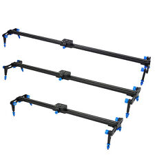 "32""/40""/48"" DSLR Camera Slider Rail Track Dolly Studio Camcorder Stabilization"