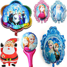 Hot Santa Frozen Aluminum Foil Helium Balloons Party Xmas Bday Home Decor Gifts