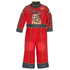 NEW DISNEY Boys Lightning McQueen Costume - Has FLASHING LIGHTS!  Size 4 5 6 7 8