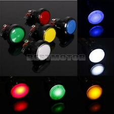 Arcade Video Game Round Push Button LED Lighted Illuminated Lamp +Micro Switch