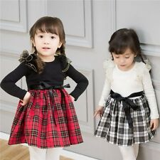 1PCS Baby clothes girls dress all season outfits skirts sets for 1-5Y R84