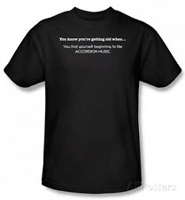 Getting Old?Accordion Music T-Shirt