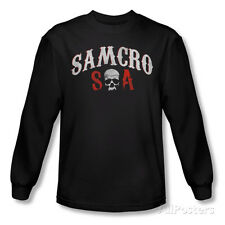 Long Sleeve: Sons Of Anarchy - Samcro Forever T-Shirt Black