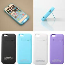 4200mAh Power Bank Back Up Battery Charger Case Cover Stand for iPhone 6 4.7""