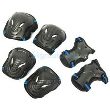 6pcs Elbow Knee Wrist Safety Pads Gear Skating Scooter Bike Protector Kids