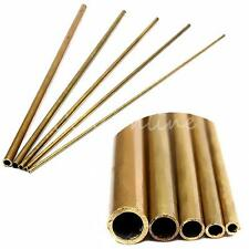 Inner Dia. of 2-6mm Round Brass Tubes 0.45mm Wall Thick Pipe for Model Building