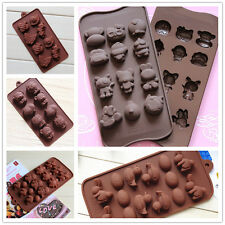 Xmas Muffin Chocolate Cake Cookie Candy Jelly Ice Baking Mould Mold Bakeware