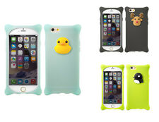 Bone Cute Cartoon Soft Silicone Case Cover for iPhone 5 5s 6 & 6 Plus