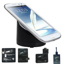 Wireless Charger Charging Pad Receiver For Nexus HTC Nokia Samsung Note2 3 S3 S4