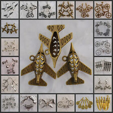 Ea0064-Na3977 Wholesale Tibetan Silver/Antiqued bronze equipment charms