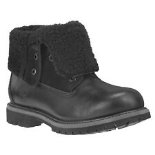 Timberland 8661A Waterproof Womens Size Teddy Fleece Fold Down Boots