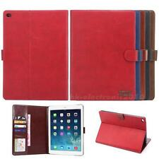 Ultra Slim Smart Case Stand Cover PU+PC Leather Case For Apple IPad Air2 HLRG