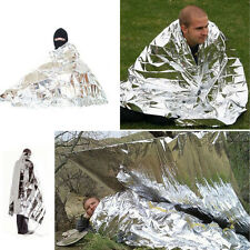 Camping Sliver Outdoor Emergency Rescue Solar Thermal Space Mylar Blanket