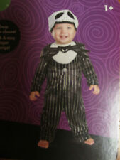 DISGUISE DISNEY JACK SKELLINGTON INFANT BOYS COSTUME 6-12 MONTH, 12-18 MONTH NWT