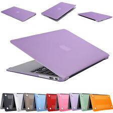 """New Plastic Crystal Hardshell Hard Case Cover For Apple Mac Book Air 11.6"""" 13.3"""""""