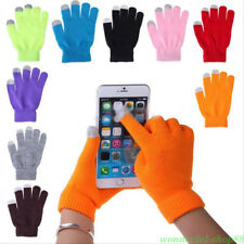 Men/Women Touch Screen Gloves For Smart Phone Tablet Full Finger Winter Mittens