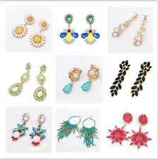 Bling Women Dangle Statement Lady Earring Gorgeous Party Gift Earring Pin