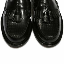 Delicious Junction Slight Seconds Solatio Basket Weave Tassel Loafers Mod Shoe