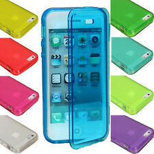 HOUSSE COQUE GEL A RABAT SILICONE TPU ETUI CASE COVER TACTILE POUR SMARTPHONE