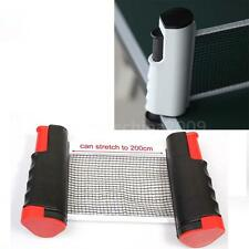 2 Color Retractable Table Tennis Net Rack Replacement Ping Pong Net Kit US Stock