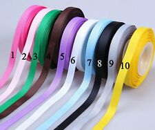 "25 YDS 3/8"" grosgrain ribbon color pick gift box wedding decoration craft bow fo"