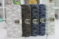 New Tags &Retail Michael Kors leather protective case cover for iPhone 6/6+