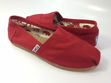 TOMS WOMEN'S CLASSIC CANVAS - RED