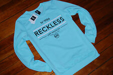 NEW Women's Young and Reckless Y&R Soft Blue Pullover Sweatshirt (XS S M L XL)