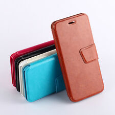 BEKOO / Hot Sale Smooth Flip Leather Wallet Pouch Protect Case Cover For Huawei