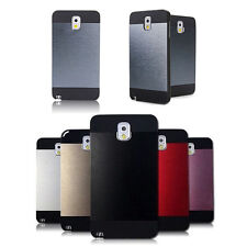 New Flat Metal Brushed Aluminium Case Cover For SAMSUNG Note3 Excellent