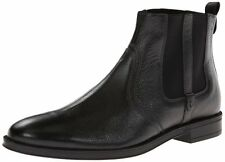 Stacy Adams Men's Carnaby black leather slip on dress shoes boots (24908)