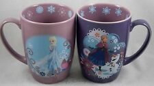NEW Disney Store Exclusive FROZEN Movie Elsa Or Anna Ceramic Hot Coffee Mug Cup