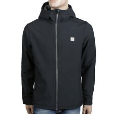 Bench Adhesive Softshell Jacket Men's Black Fleece Lined Jet Black