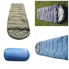 Outdoor Adults Camping Travel Hiking Envelope Sleeping Bag Spring Autumn Winter