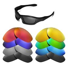 Walleva Replacement Lenses for Oakley Monster Dog Sunglasses - Multiple Options