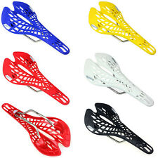 MTB Mountain Road Bicycle Cycling Bike Hollow Saddle Seat Plastic Excellent