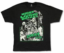 """ROB ZOMBIE """"NIGHT OF THE LIVING DREADS TOUR"""" BLACK T-SHIRT NEW OFFICIAL ADULT"""