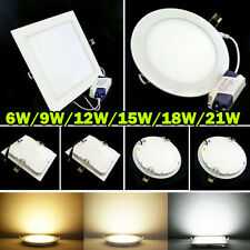 Dimmable Bombilla 6W 9W 12W 15W 18W 21W LED Ceiling Recessed Panel Down Light