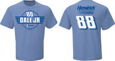 2015 DALE EARNHARDT JR #88 NATIONWIDE INSURANCE BLUE FAN UP NASCAR TEE SHIRT