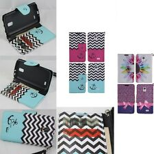LG Access LTE L31G / F70 4G D315 Hybrid PU Leather Wallet Pouch Case Flip Cover