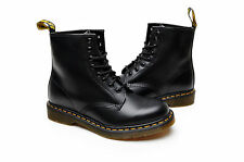 Dr Martens Mens Shoes 1460 8 EYE Boot R11822006 Black Smooth