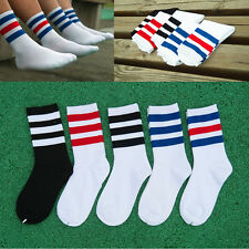 Men Fashion Health Short Unisex Sock Athletic Cosy Soft Durable Striped Stocking