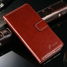 New Luxury Leather Flip Card Wallet Stand  Case Cover For Apple iPhone 6/6 Plus