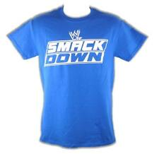 WWE Friday Night Smackdown Mens Blue T-shirt