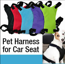 Pet Dog Cat Adjustable Safe Car Seat Safety Belt Multifunction Harness/ Walking